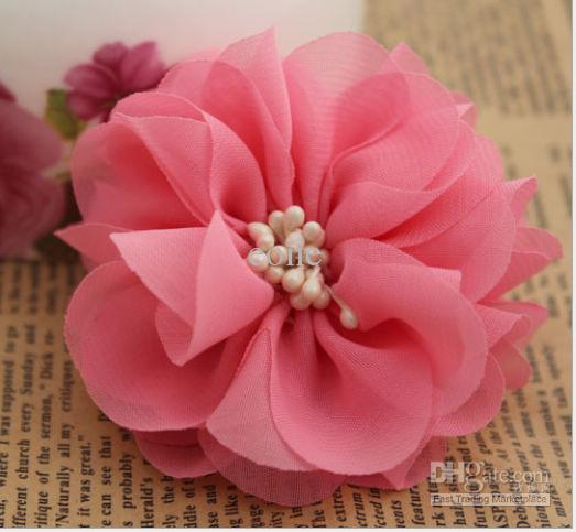28 chiffon flower with center diy hair clip headbands accessories 28 chiffon flower with center diy hair clip headbands accessories eone toddler hair accessories hair accessories for babies from eone 582 dhgate mightylinksfo Images