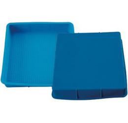 Wholesale Silicone Cake Square - DIY Cake Mold, Square Silicon Cake Pan Cup Mold, 100% Safe, Through FDA, Freeshipping