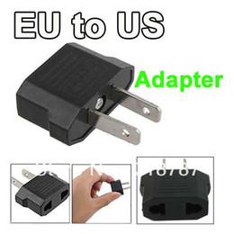 Canada Livraison Gratuite UE Européenne aux USA USA Voyage Plug Adaptateur AC Adaptateur Connecteur 10pcs / lot Offre