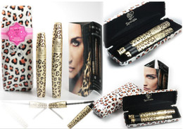 Mascara Léopard Pas Cher-Magic Leopard Lashes Fibre étanche Mascara Brush Eye Black Long Maquillage Eyelash Grower