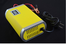 Wholesale Automatic Car Battery Charger - Free Shipping smart car batter chargerfully-automatic car battery charger 12v 6A battery charger.
