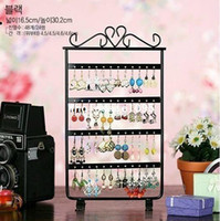 Boucles D'oreille En Métal Pas Cher-48 trous Earring Earring Jewelry Display Jewelry Holder Rack stand