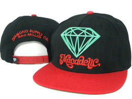 Wholesale Cheap Boys Hats - Hellosport86 wholesale wholesale snapbacks hats cheap cap Diamond Mac Miller boys trukfit sport snap hat cap hats high quality mix order
