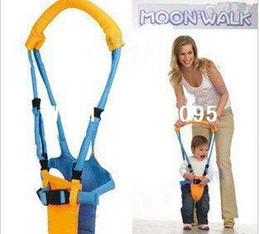 Wholesale Baby Walking Moon Walk - Moon baby Walkers Infant Toddler safety Harnesses Learning Walk Assistant