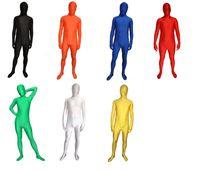 vestido de cuerpo xxl al por mayor-Fancy Dress Party Lycra Spandex Skin Disfraces Zentai Body S-XXL