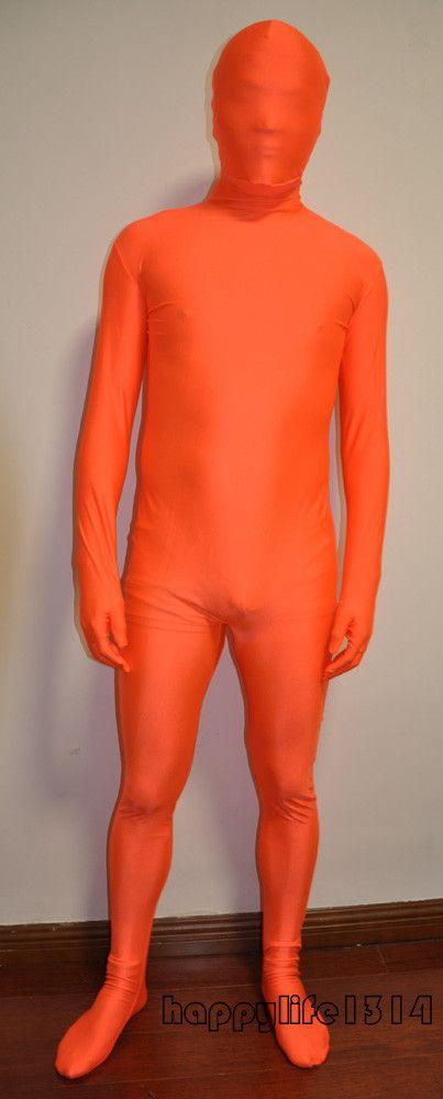 Fancy Dress Party Lycra Spandex Skin Zentai Costumi Body S-XXL