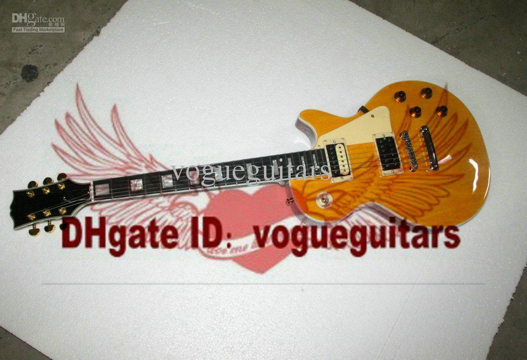 Loja feita sob encomenda Marc Bolan Tributo VOS Guitarra Elétrica Ebony fingerboard Frete Grátis C98