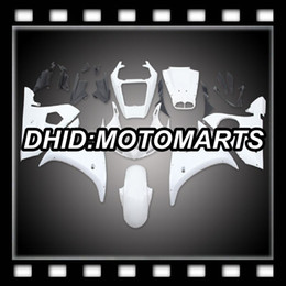 Non verniciato per YAMAHA YZF-R6S 06 07 08 09 YZFR6S YZF R6S 2006 2007 2008 2009 Kit carena ABS MT82