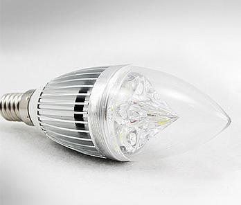 E14 E27 Silver Candle LED Light Lamp Bulb 12W 15W 85~265V 12V Warm White Cool White , Free Shipping, 10pcs lot