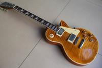 Wholesale Root Beer Guitar - Wholesale Custom Shop 1959 Reissue VOS Tigrina electric guitar beer root 120105