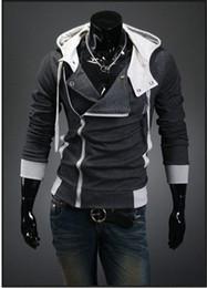 Wholesale Desmond Miles Hoodie Jacket - NEW! Assassin's Creed 3 Desmond Miles Hoodie Coat Jacket Cosplay Costume