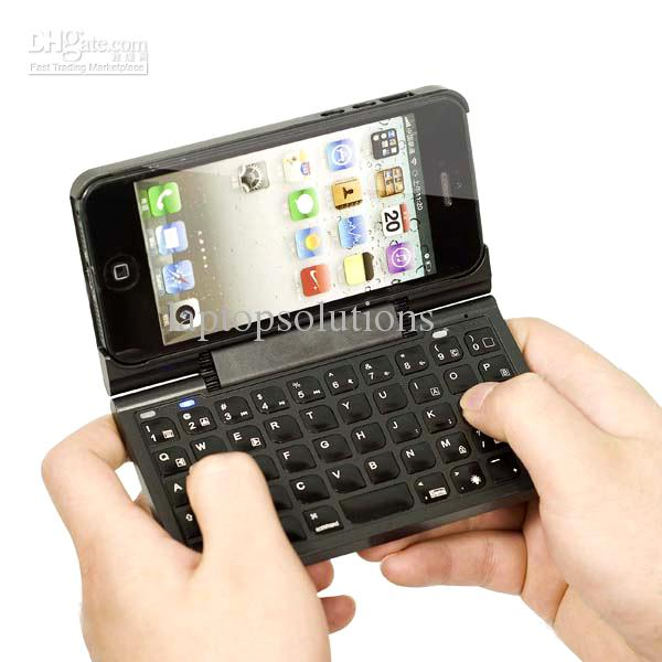Super Slim 360 Rotation Bluetooth Keyboard Case Portable Wireless Keypad Cover Protective Skin For IPhone