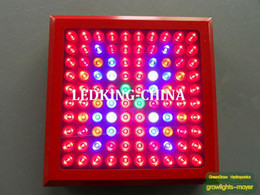 Wholesale Led Grow Light Optical - Wholesale Red shell 3W Led Grow Light 300W(100*3W),built with optical lens,best for Medicinal plants