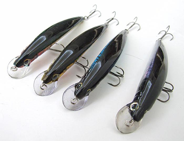 Esca pesca con esche artificiali in plastica esca dura lanciare esche da pesca fishingtackle galleggiante gancio china 105mm / 13g
