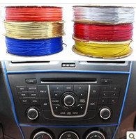 Wholesale Moulds Cars - (20 pieces lot) Wholesale DIY Flexible trim strip line for car auto interior exterior moulding strip decoration