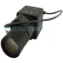 Wholesale Effio Mini Bullet - Super Mini 960H 700TVL Sony Super HAD CCD Effio-P 6-60mm Auto IRIS CS Lens Box Bullet Camera 0.0001Lux WDR OSD Menu HLC