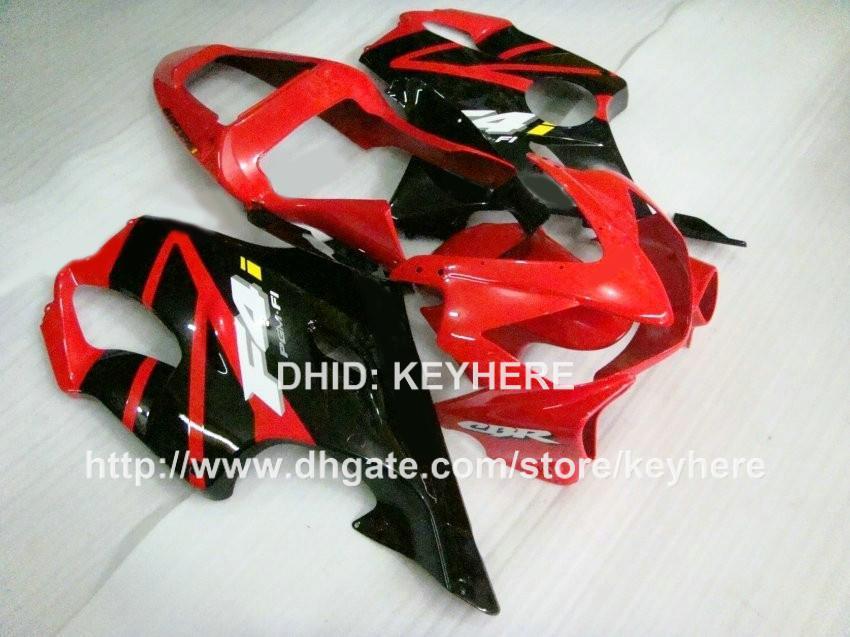 Kit de carenado rojo negro de alta calidad para Honda CBR600 F4i 2001 2002 2003 cbr600 01 02 03 CBR600F4i 01 02 03 carenado de carrocería de motocicleta RX4z
