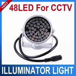 Wholesale Cctv Camera Leads - 48 LED illuminator Light CCTV IR Infrared Night Vision For Surveillance Camera