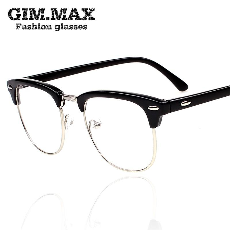 2013 Vintage Black Rimmed Glasses Frame Star Style Box Eyeglasses ...