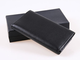 Wholesale Cheap Plain Clutches - Designer unisex Cluth leather cluth best cheap Card Holder or wallet 18.7*10.5*3cm free shipping