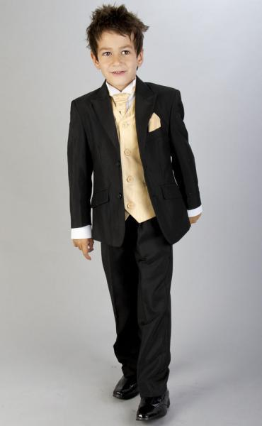 Smarten up for a special occasion with our range of designer boys suits. Discover the sweetest buster suits for younger boys in a variety of luxurious colours, or dress boys like daddy in a sharp three piece dinner suit, including a waistcoat, jacket and trousers.