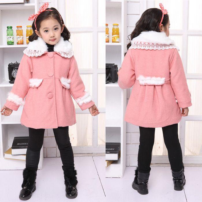 New Year New Clothes 2013 Winter Models Girls Tk Fur Collar Coat Z ...