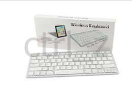 2nd ipad online shopping - White Bluetooth Wireless Keyboard For iPad nd New rd th Gen Mini Macbook Mac
