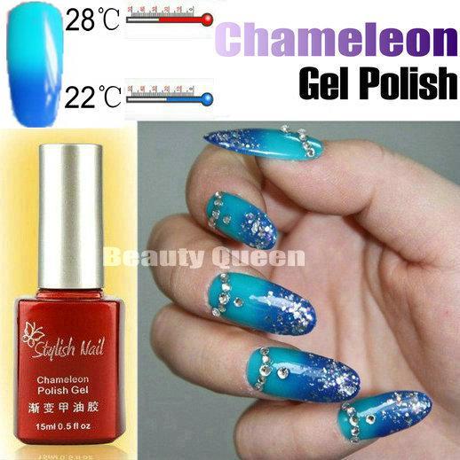 Changing Gel Color Chameleon Nail Gel Polish Soak Off Uv Led Gel