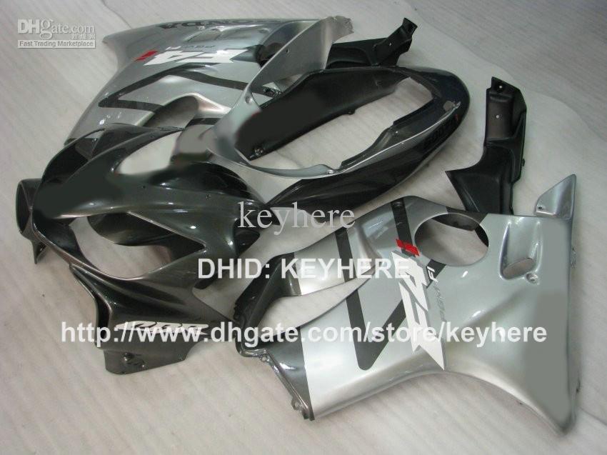 Kit de carénage en ABS pour Honda CBR600 F4i 2004 2005 2006 2007 cbr 600 04 05 06 07 CBR600F4i 04 05 06 07 carénage argent pièces de moto gary G4A