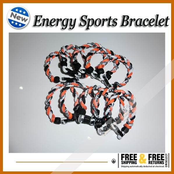 браслеты для женщин 3 веревки торнадо Германий титана браслет спорта X45 спортсменов супер версия