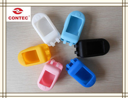 Spo2 Finger Canada - Wholesale- New 2013 Style Finger Pulse Oximeter spo2 Monitor Fingertip Oxygen Monitor CE