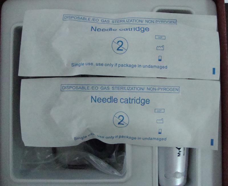 New Derma Pen Auto Microroller Motorized Roller Needle Skin Theraphy MY-M From Korea Derma