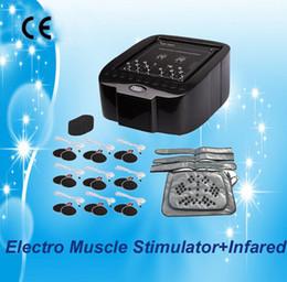 Wholesale E Stimulation - electric muscle stimulation weight loss e-bag belly fat loss beauty equipment machine AU-7003