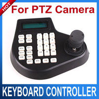 Wholesale Dome Keyboard Controller - Speed Dome Keyboard CCTV Keyboard Controller LCD Display for PTZ camera 2D or 3D Joystick Control