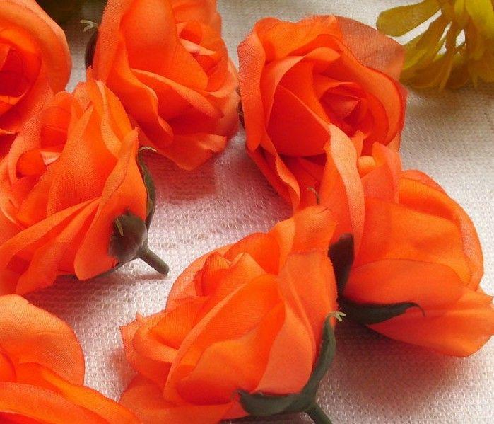 Bonito Diâmetro 7-8 cm Camélia De Seda Artificial Tecido Rosa Camélia Cabeças de Flor