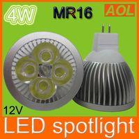 Wholesale Led 12v Mr16 Downlights - Good Quality 4W MR16 LED Bulb led light Led Spotlight Bulbs 12V LED Downlights cool warm white