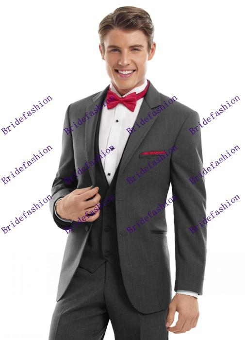 New Arrival!!High Quality Handsome Jacket+Pants Groom Tuxedos/Men Suits Graduation Dresses