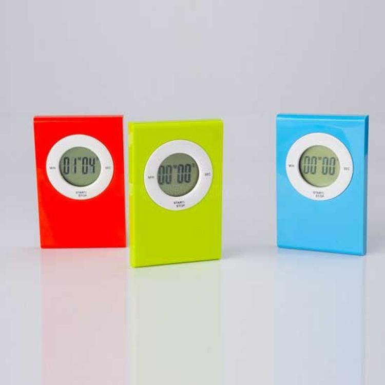 Wholesale   Digital Kitchen Timer With Mini Digital LCD Countdown Timer Clip  3 Coler Ors With Tim