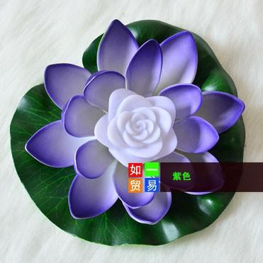 i che cambiano la decorazione di nozze del fiore dell'acqua del loto artificiale del loto della luce del loto LED