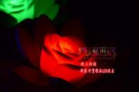 ingrosso ha portato loto artificiale-7 colori che cambiano la decorazione di nozze del fiore dell'acqua del loto artificiale del loto della luce del loto LED 10pcs 20pcs