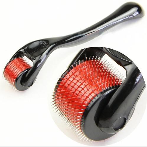 540 Naalden Titanium Derma Roller Skin Beauty Roller, roestvrijstalen naaldrol. Chinapost vrij