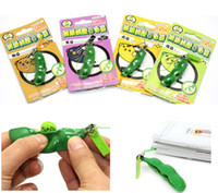 Unlimited Soybeans Squeeze Toy Edamame Bean con una fragancia Descompresión Toys Children's Gift
