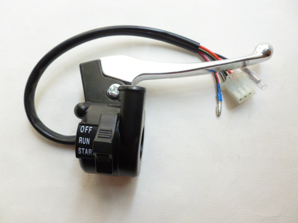 best selling OEM PW PY50 Right Throttle Housing Switch with Lever FOR YAMAHA PW50 GT50 PEEWEE LONCIN & JIANSHE PY50