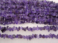 Wholesale Amethyst Freeform - Amethyst Chips Natural Chips Loose Beads Gemstone Freeform DIY Beads 34 ""