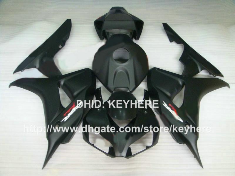 Kit carenatura custom HONDA CBR1000RR 06 07 CBR 1000RR 2006 2007 carene moto carrozzeria lavoro aftermarket hot slae all flat black G6a