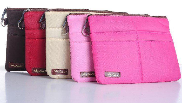 2017 Cosmetic Makeup Travel Bag Women Purse Passione Zipper Pouch ...