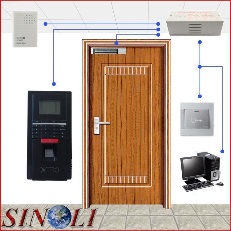 2019 Complete Diy Single Door F20 Biometric Fingerprint