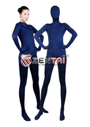 $enCountryForm.capitalKeyWord Canada - new Navy Blue Full Body Lycra Spandex Zentai Suit S-XXL -Wholesale