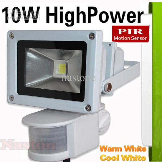 Proiettori 10W 20W 30W LED PIR Shell grigio infrarosso passivo del sensore di movimento della luce di inondazione o la luce del sensore umana lampada Indoor / Outdoor Security