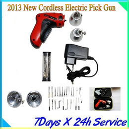 Wholesale Electric Klom Pick Tools - New Cordless Electric Pick Gun Locksmith Tools KLOM with newest pakcage---T300 SBB WE have too